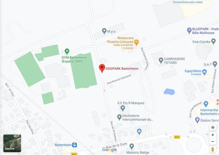 map adopark
